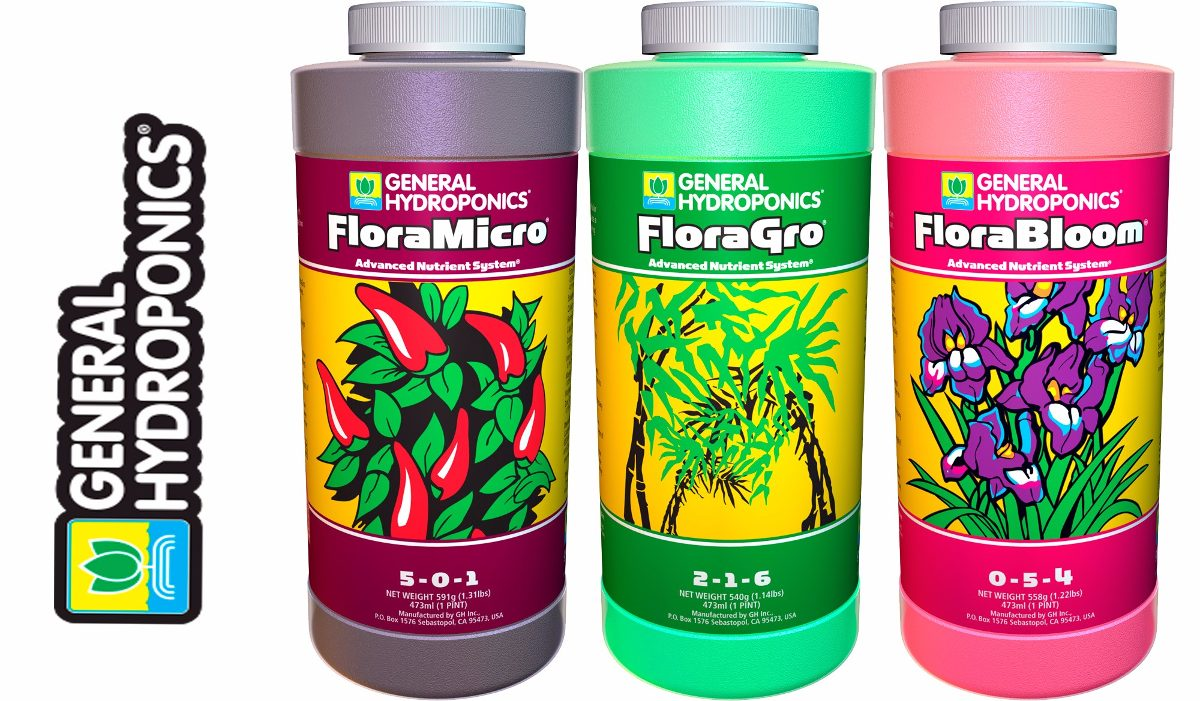 GHE General Hydroponics - Fertilizzanti Minerali