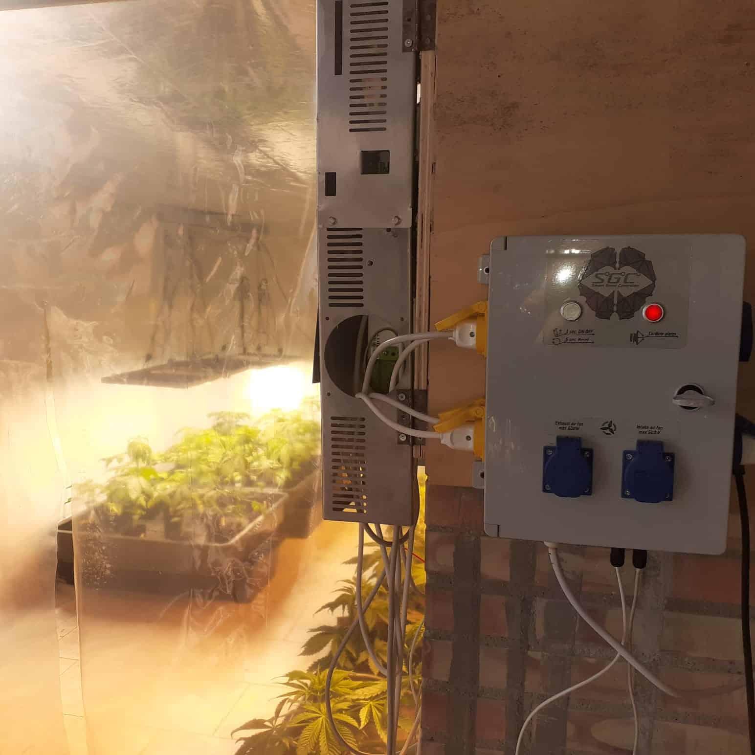Centralina Growbox Smartgrowcontroller